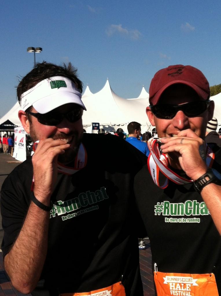 Runner's World Half #runchat guys