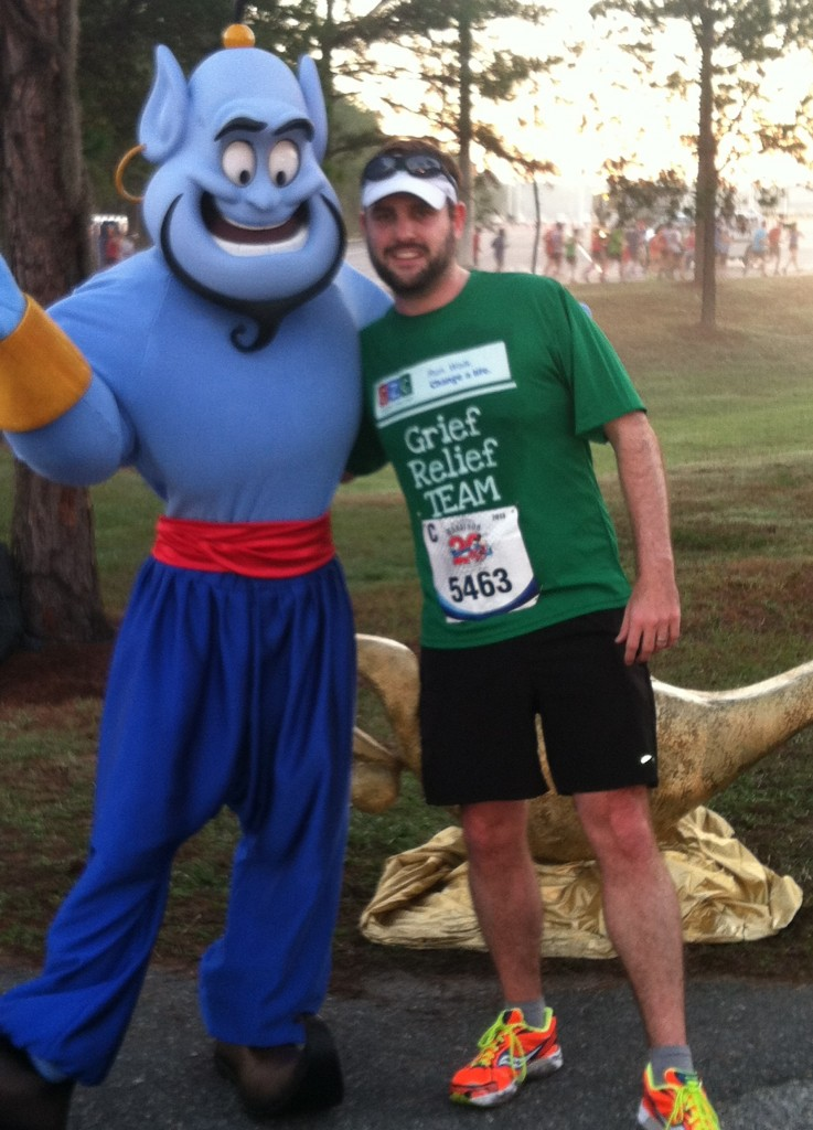 Walt Disney World Marathon, Genie