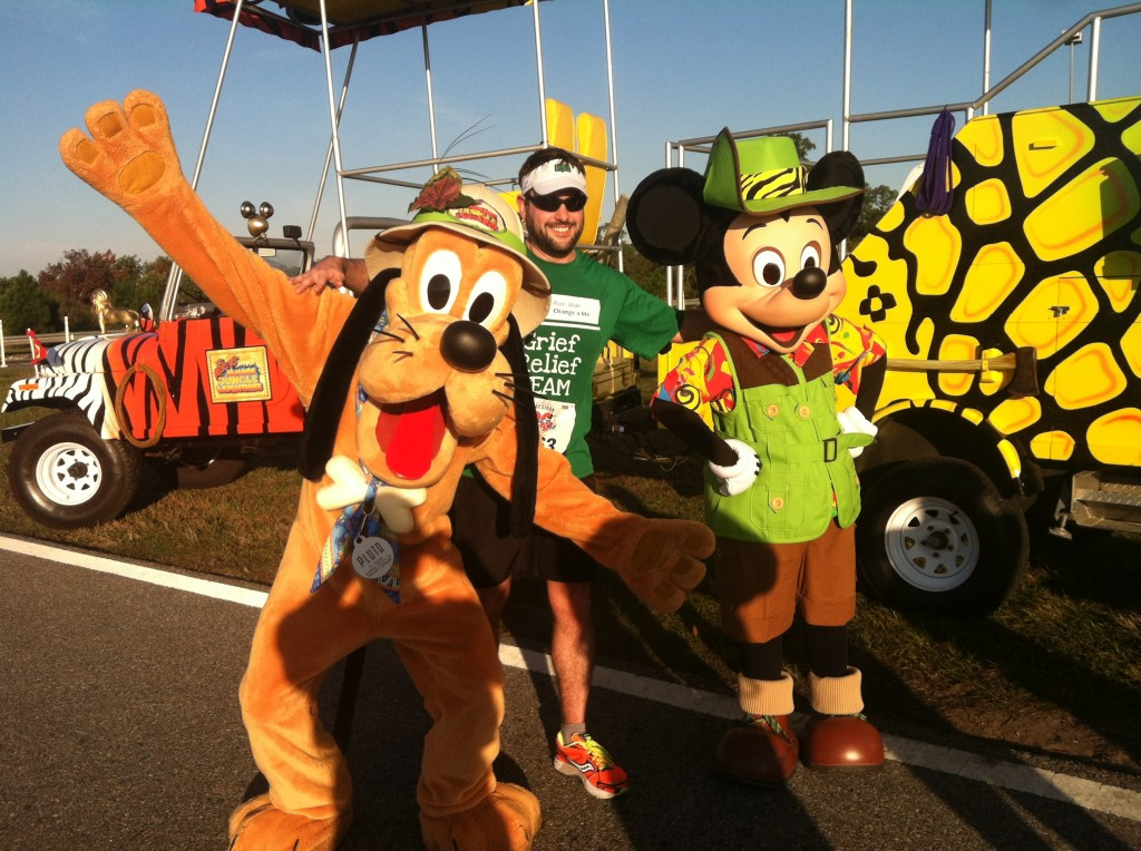 Walt Disney World Marathon, Mickey, Pluto