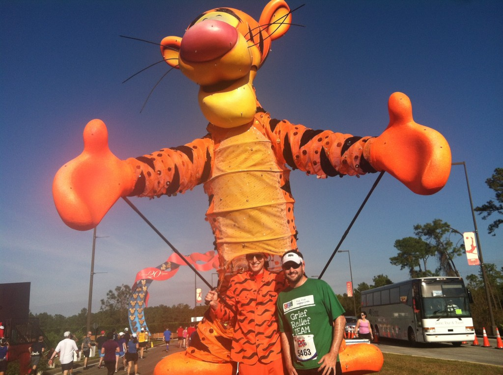 Walt Disney World Marathon, Tigger