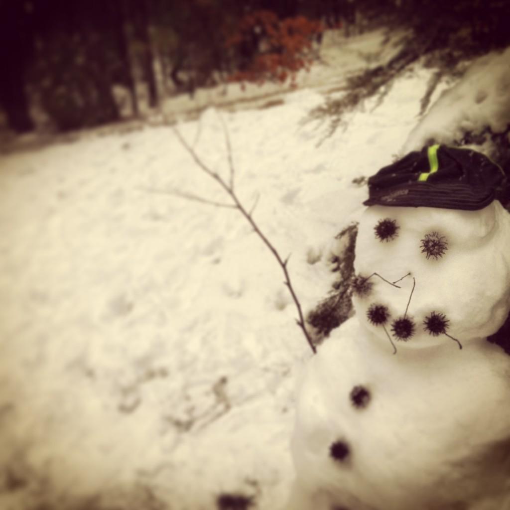 March 2013 Snowman
