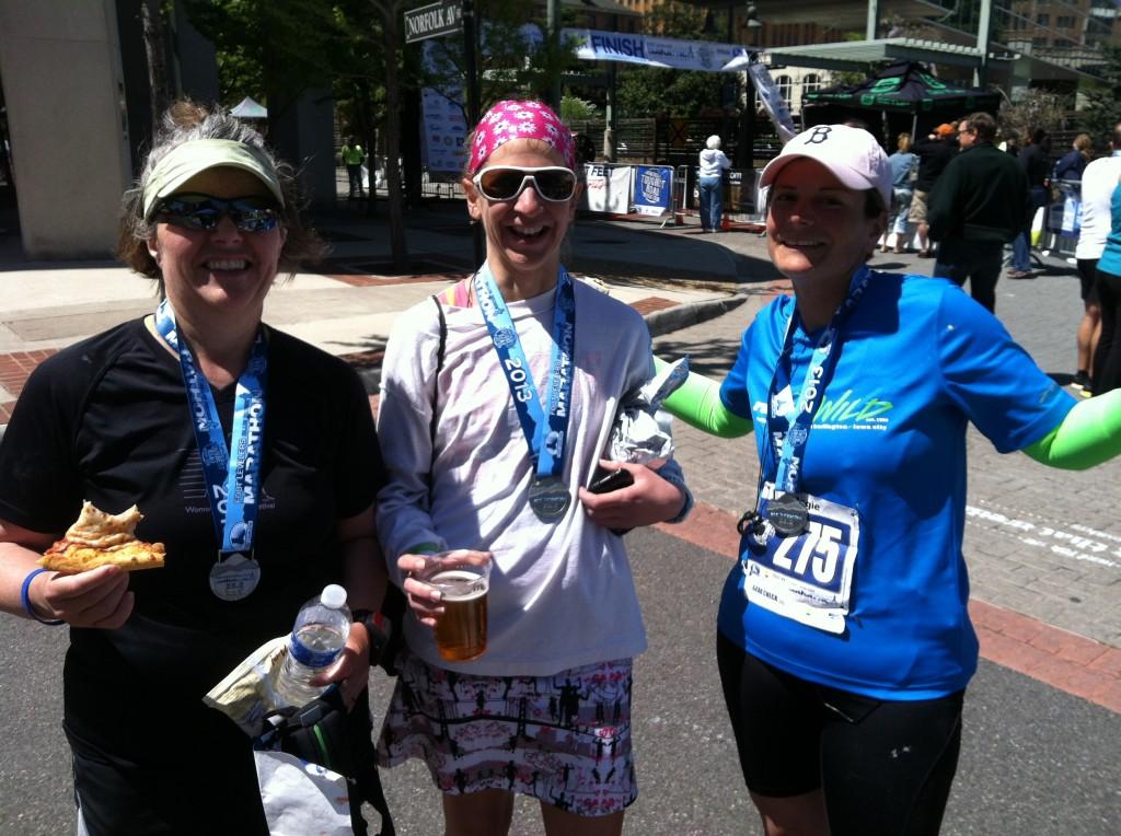 RunChat at Blue Ridge Marathon