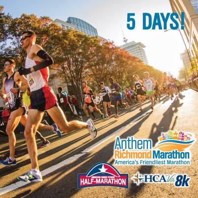 Richmond Marathon, Half Marathon