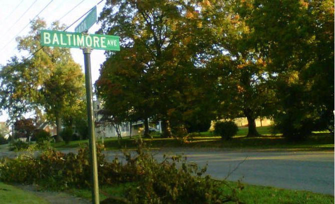 Baltimore Avenue, Bedford, Va.