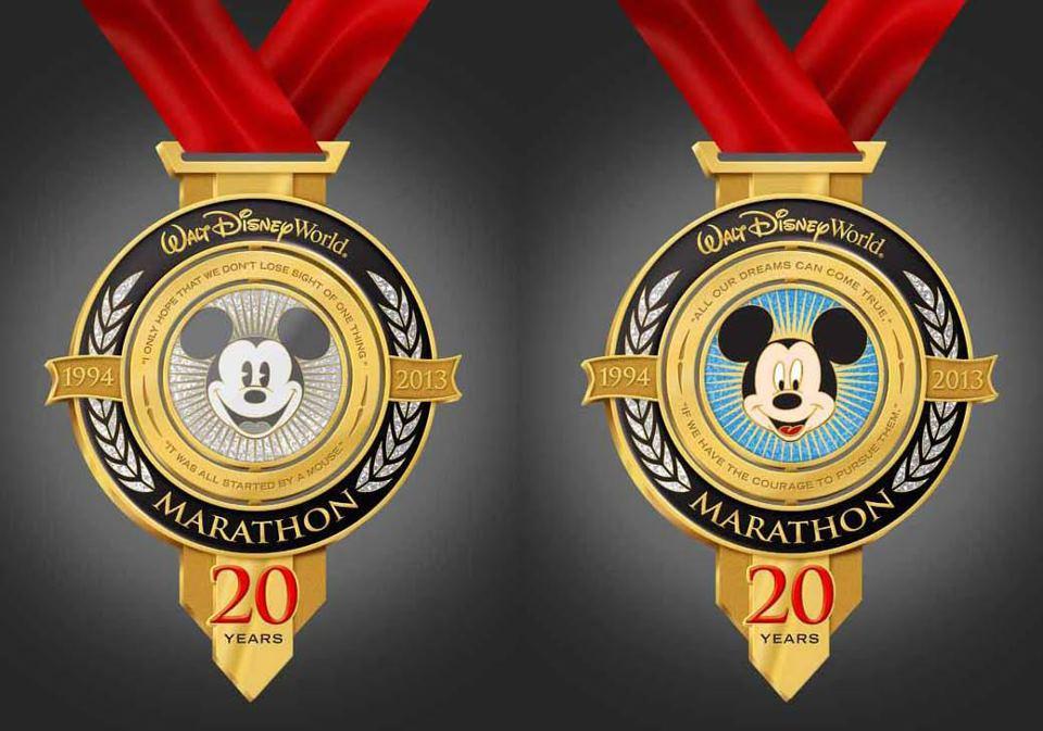 Disney Marathon 2013 medal