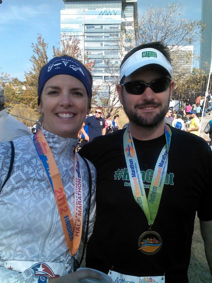 Richmond Marathon weekend