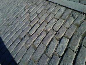 Turkey Trot, Lynchburg, cobblestone