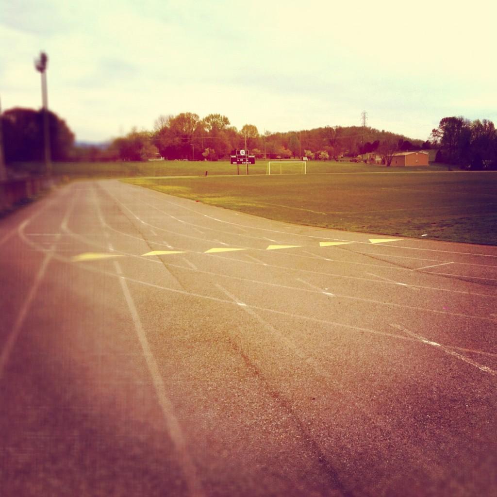 Liberty High School track, Bedford, Va.