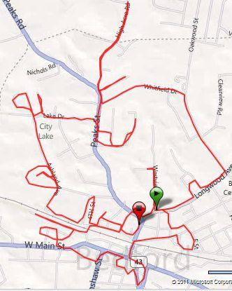 long run, running, Bedford