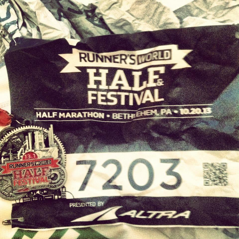 Runner's World Half Marathon medal