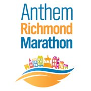Richmond Marathon logo, #rva, #runrichmond