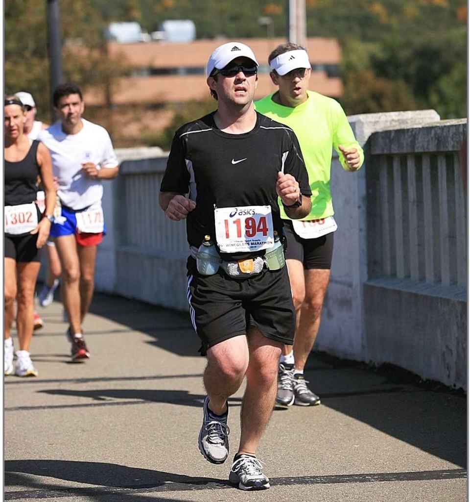 marathon, running