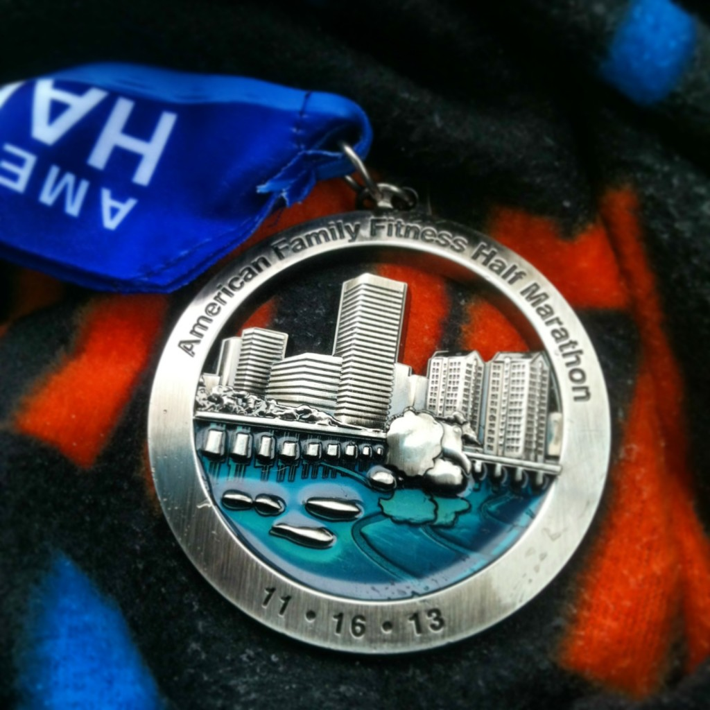 2013 Richmond Half Marathon medal