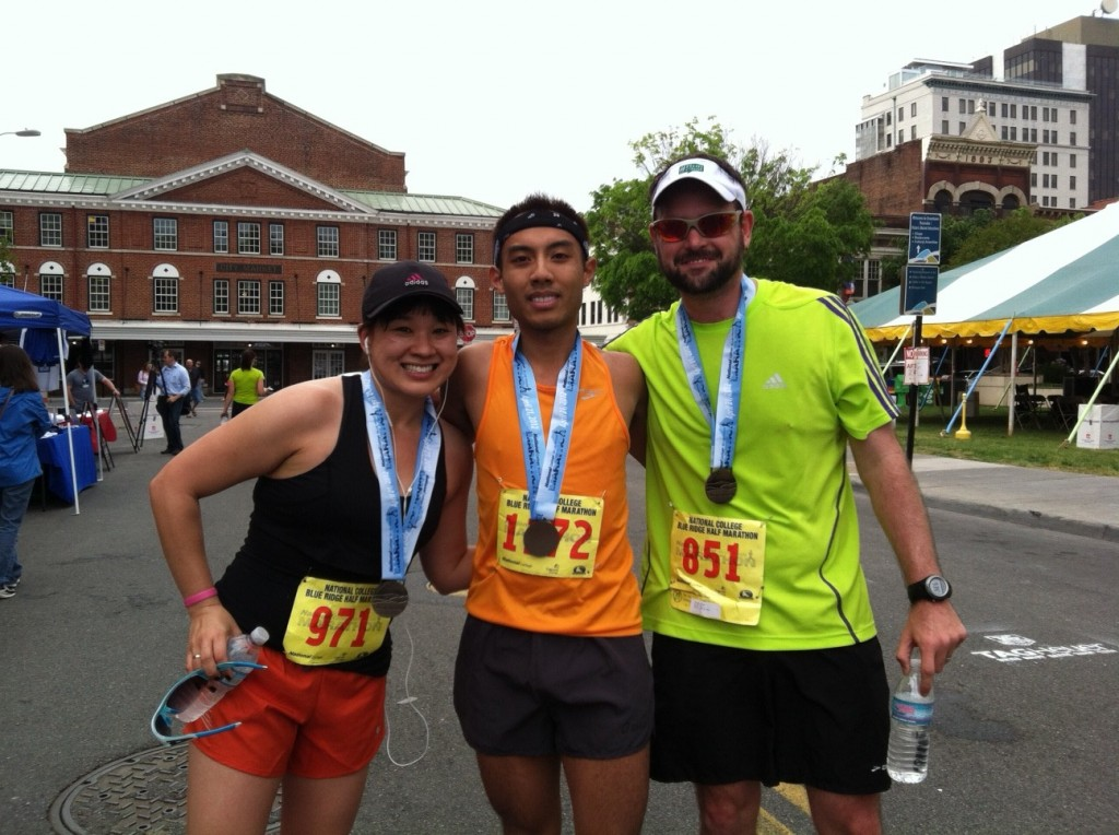 Blue Ridge Half Marathon group