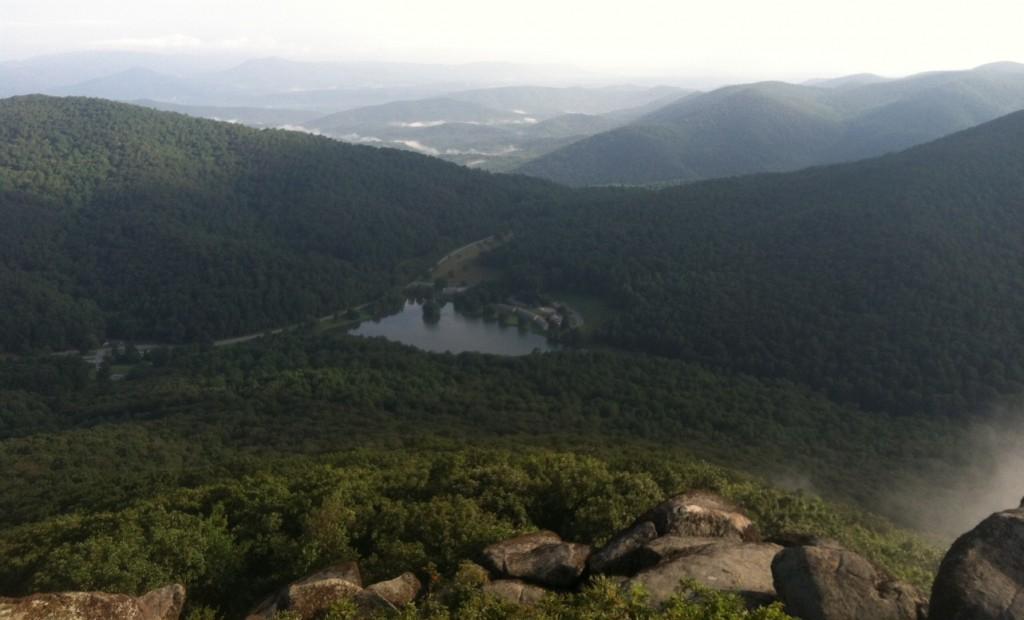 Abbott Lake - Peaks