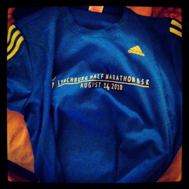 Boston - Lynchburg Half shirt