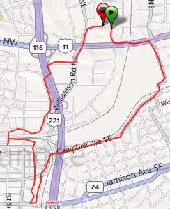 running, Roanoke, Sept. 13