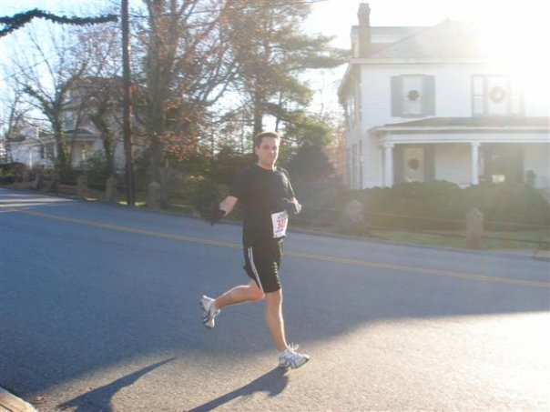 My first 10K, the Christmas Classic in my hometown of Bedford, Virginia.
