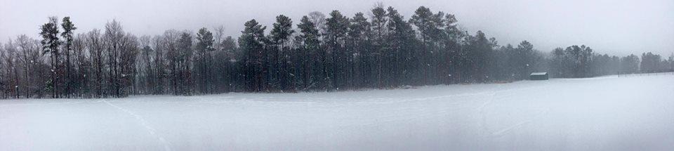 8. A beautiful snow run! ;)