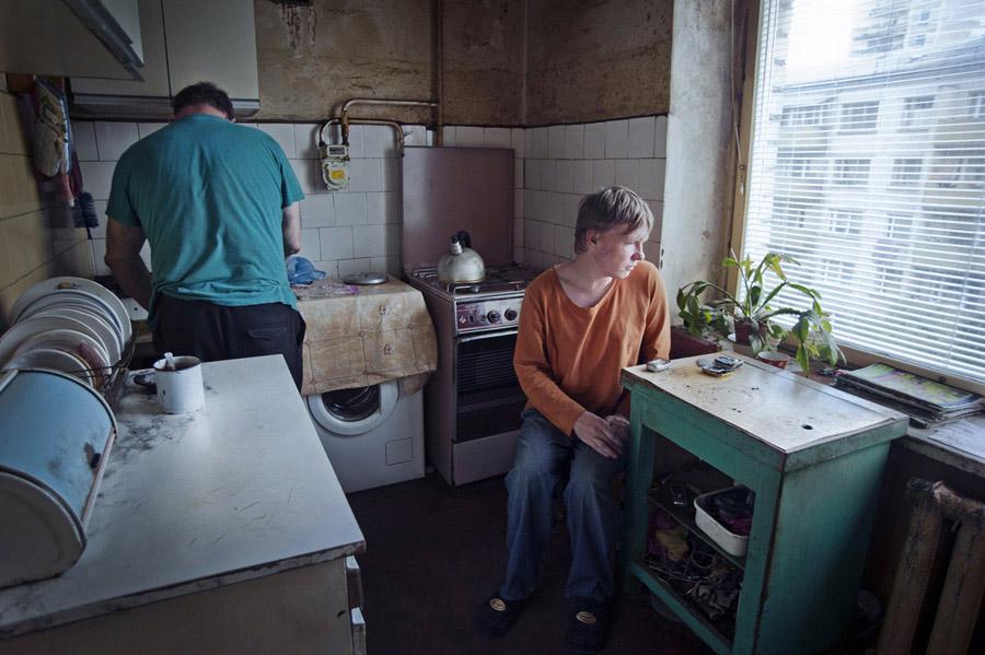 """Gunta Podiņa (Latvija / Zviedrija), no sērijas """"Mēs neesam neredzami"""""""