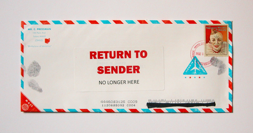 You'll always get some returned mail and using updated mailing lists is key to minimizing returns.