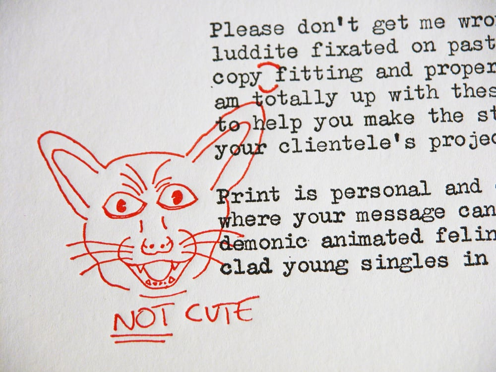 Cats Are Not Cute