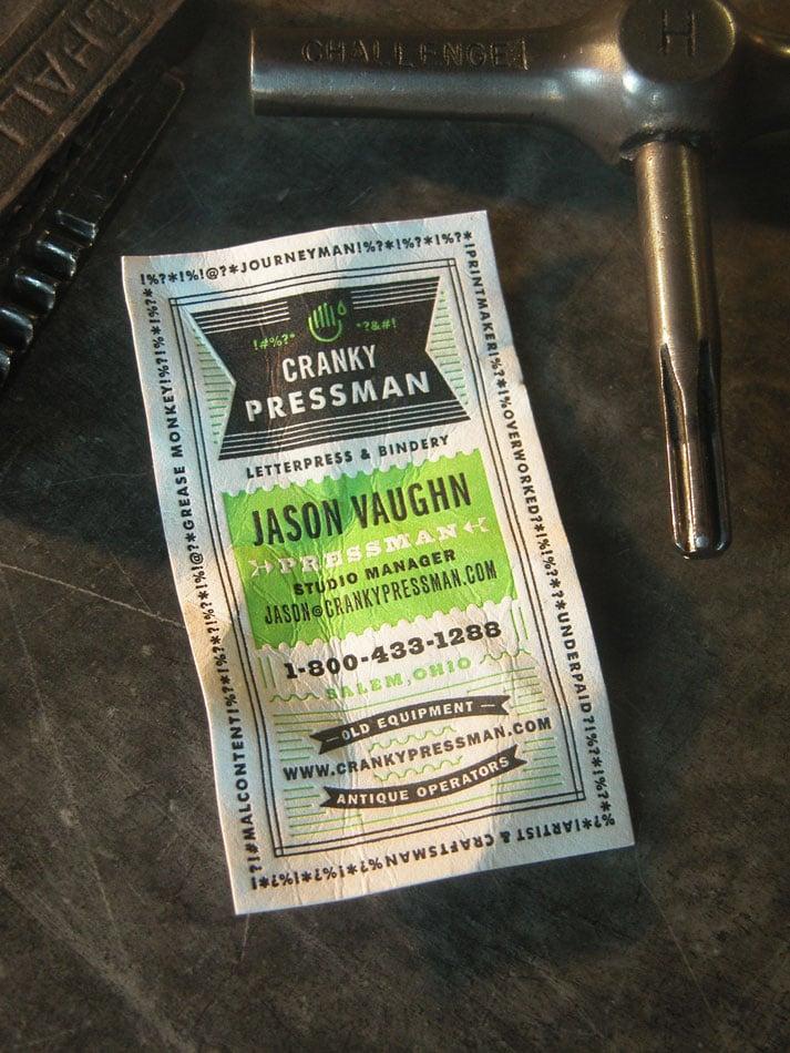 Jason Vaughn, Pressman