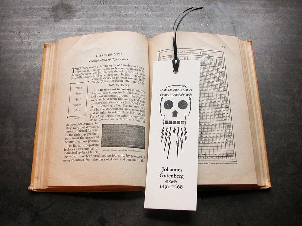 Gutenberg Bookmark