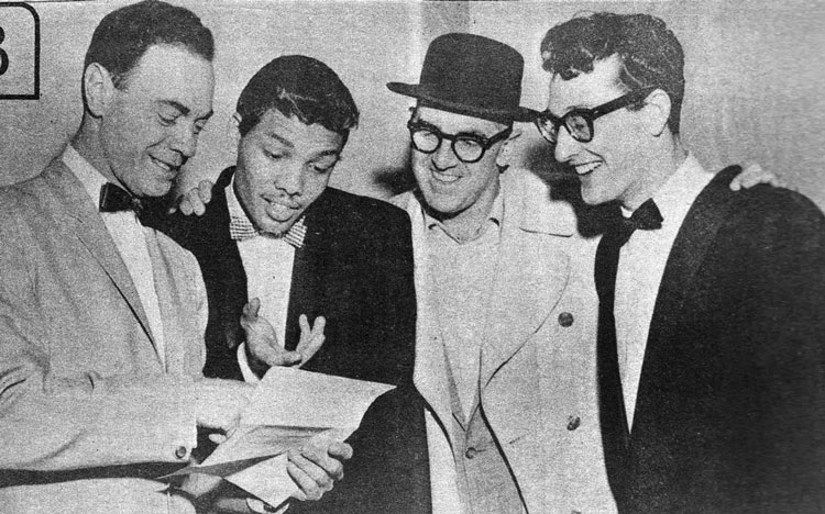 Freed and friends Sept. 8, 1957