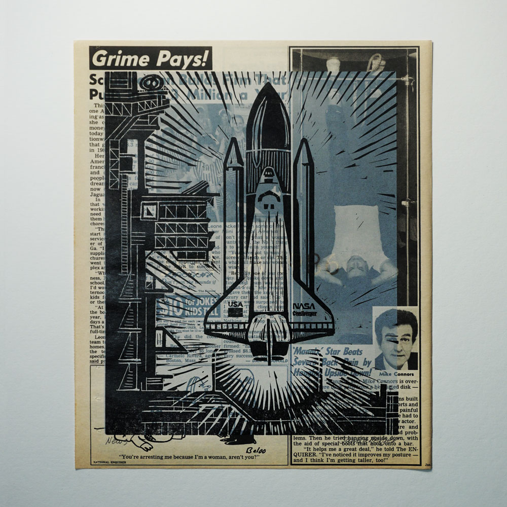 News Jan. 28, 1986 Grime Pays