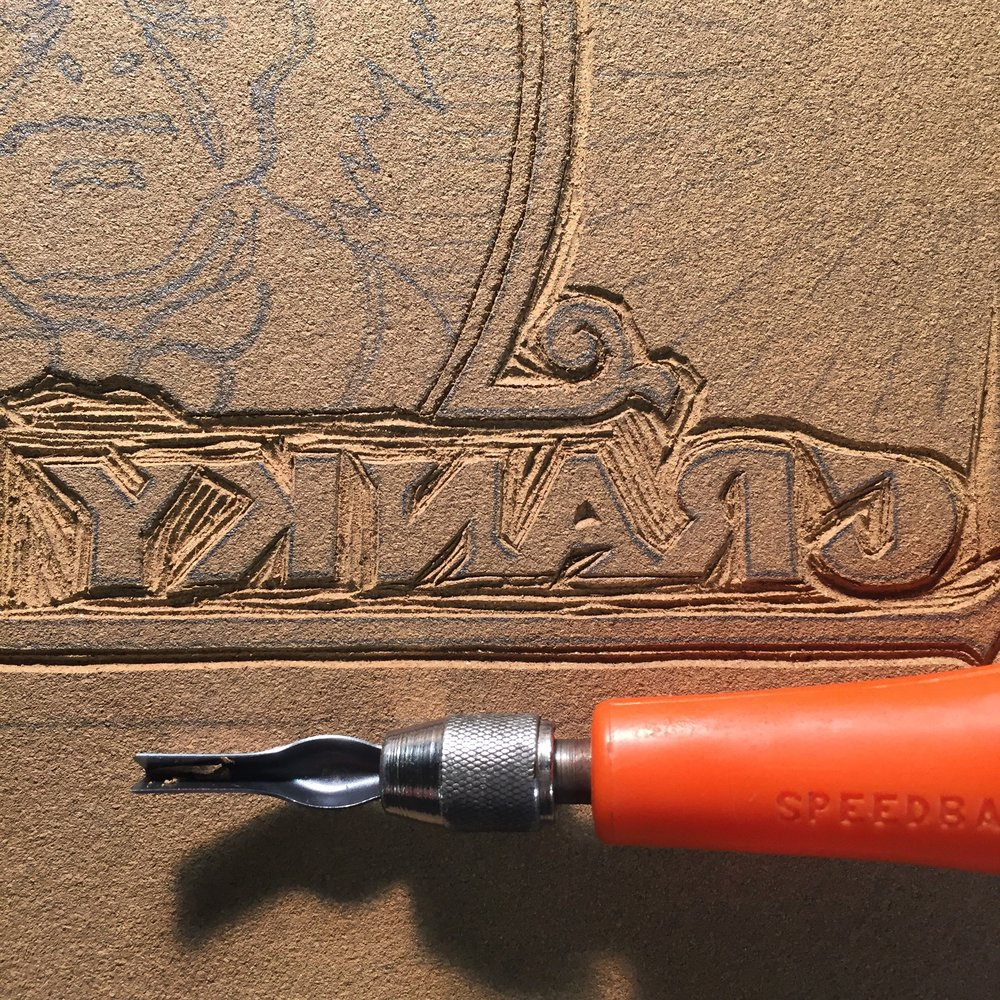 Hand-Carved Lettering
