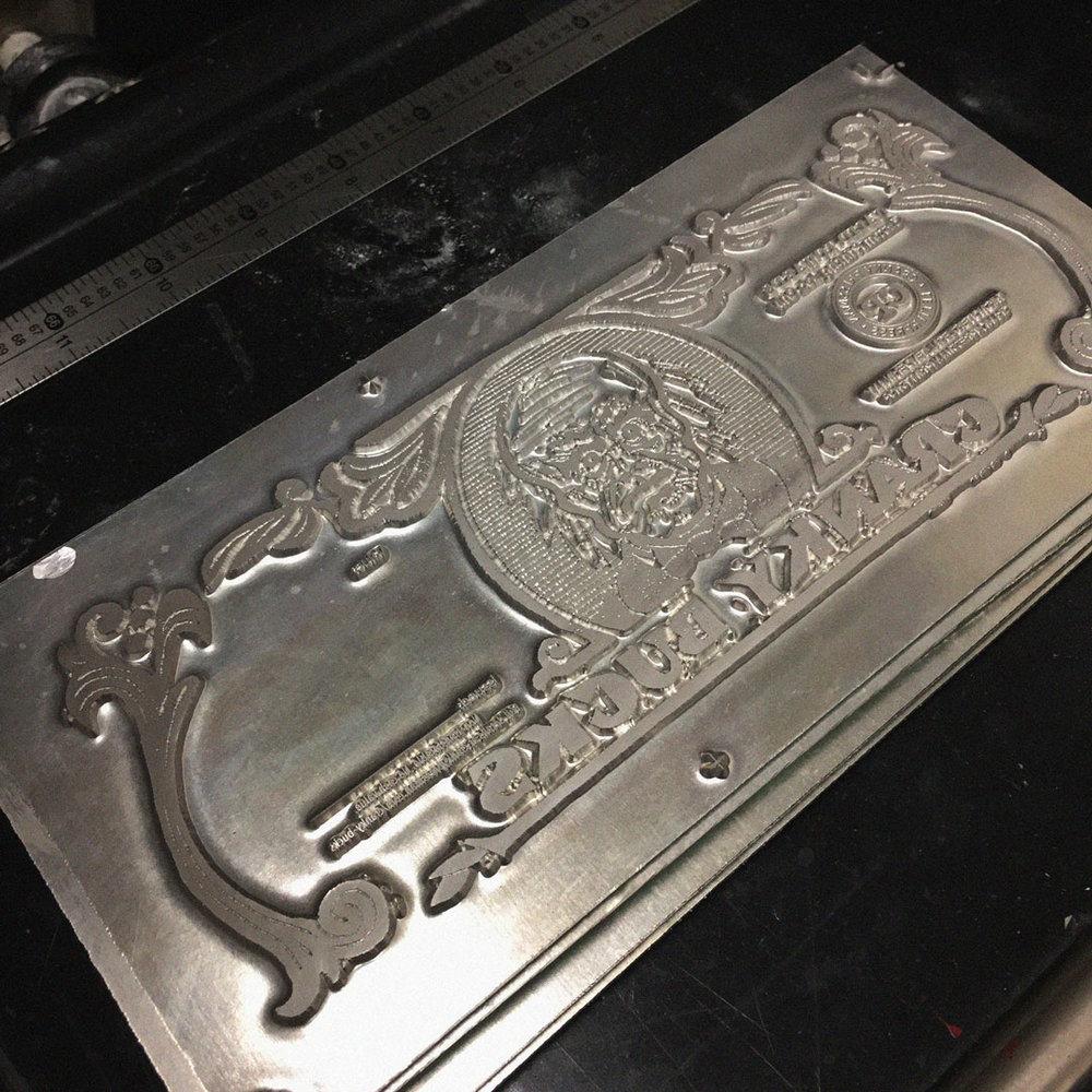 Metal Printing Plate
