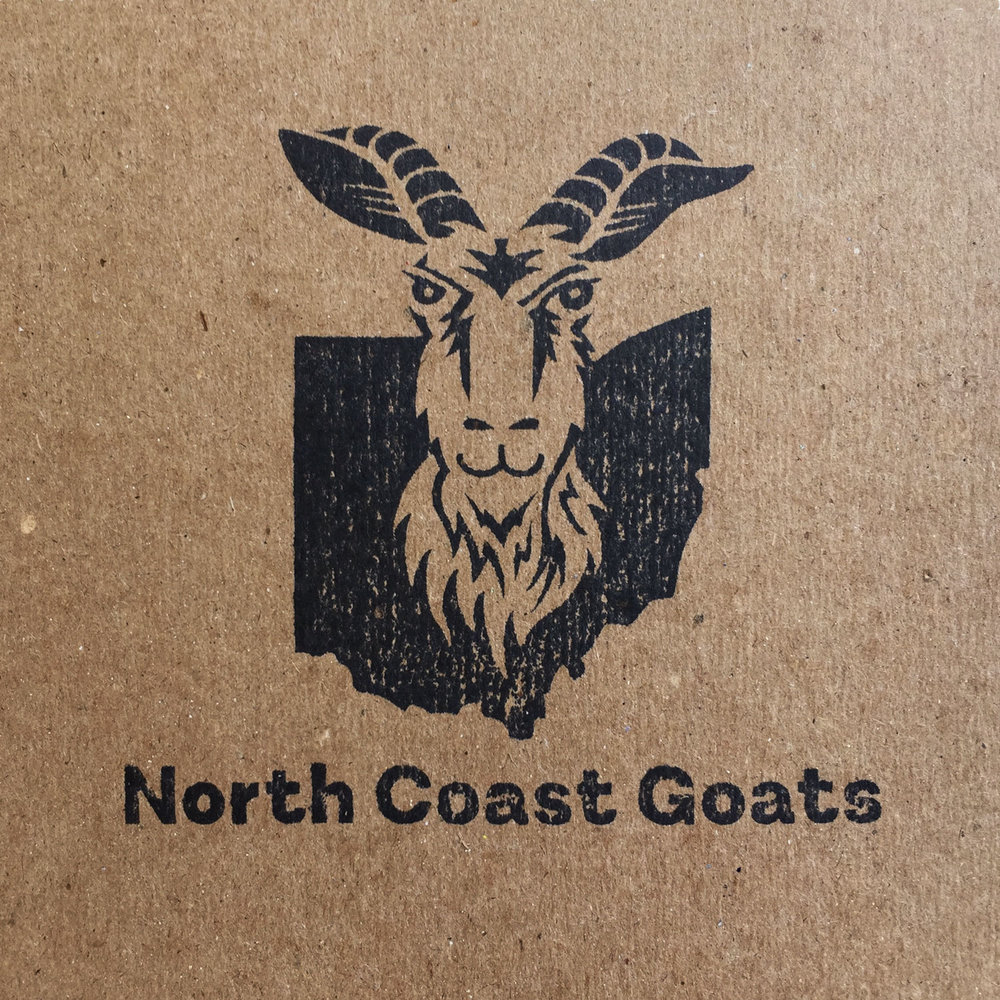 Rubber Stamped Goats Logo