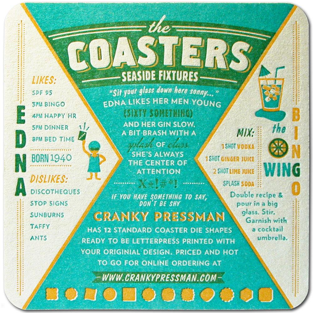 Edna - Coaster Back