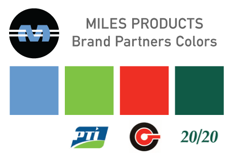 Miles Brand Colors