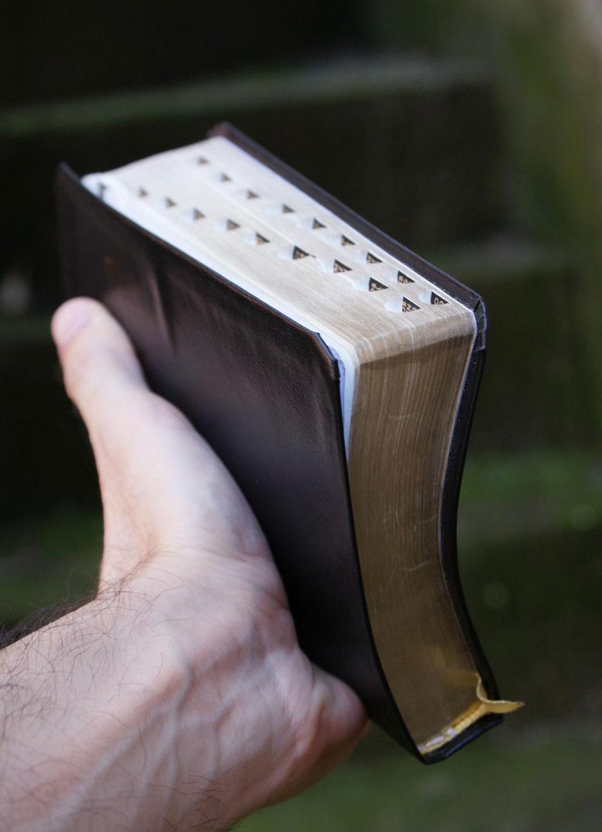 Photo: Holy Bible byViniciusde Carvalho Venâncio, Public Domain