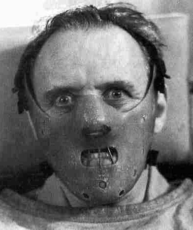 Photo:Anthony Hopkins in Silence of the Lambs, Dave Winer, Flickr, Creative Commons