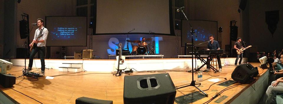 Aaron Schust concert at SALT 2013