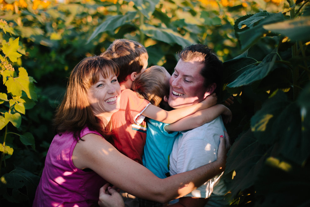 The Wilder Family | Hannahill Photography | Sunflower Sessions