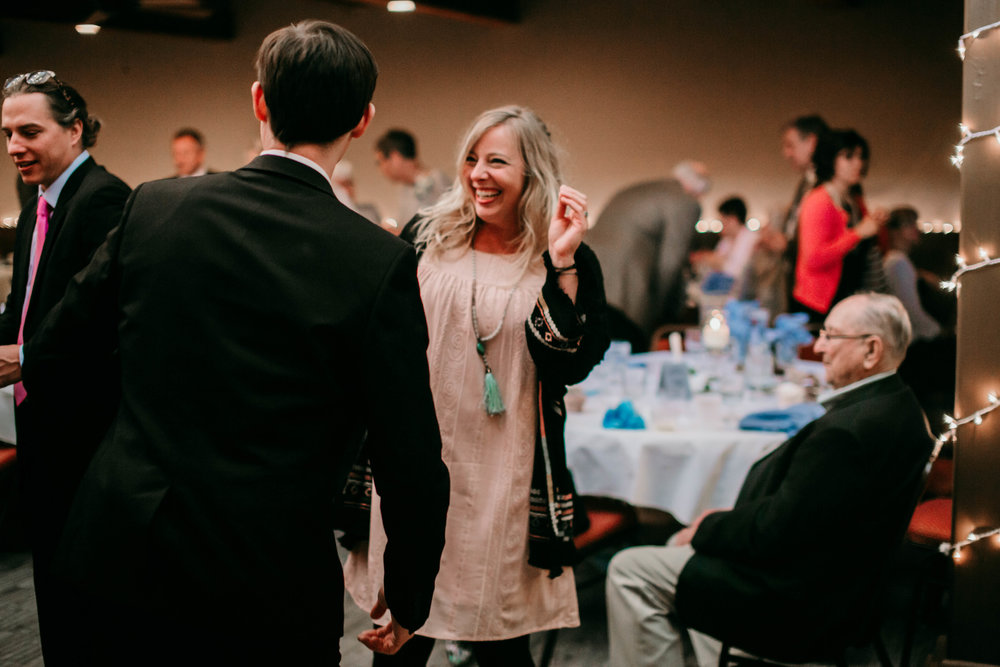 Bert & Lauren's North Kansas City Spring Wedding | Hannahill Photography | Raleigh Durham Photographer | North Carolina Wedding Photography | Family Photographer | Wedding photographer | guests dance at the reception