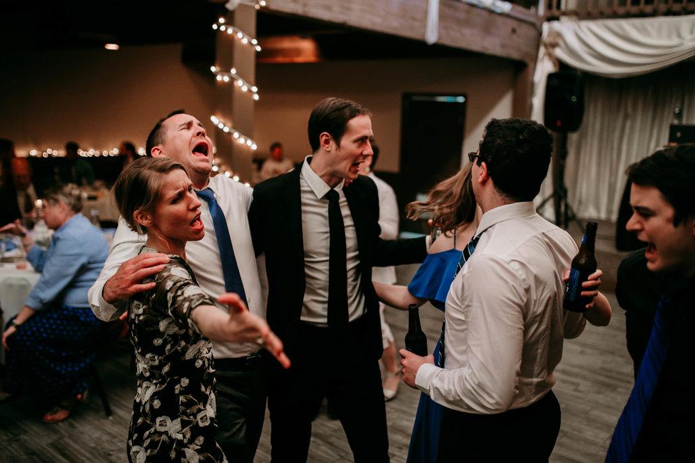 Bert & Lauren's North Kansas City Spring Wedding | Hannahill Photography | Raleigh Durham Photographer | North Carolina Wedding Photography | Family Photographer | Wedding photographer | dancing at the reception