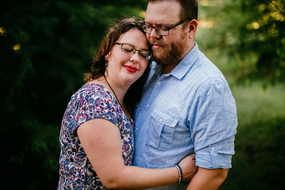 The mom and dad portrait at a family session | The Hann Family | Hanna Hill Photography | Durham, NC Family photographer