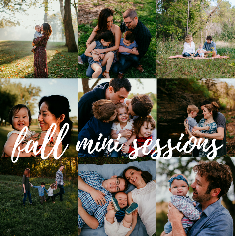 Fall Mini Sessions | Hanna Hill photography | Raleigh, NC Family photographer