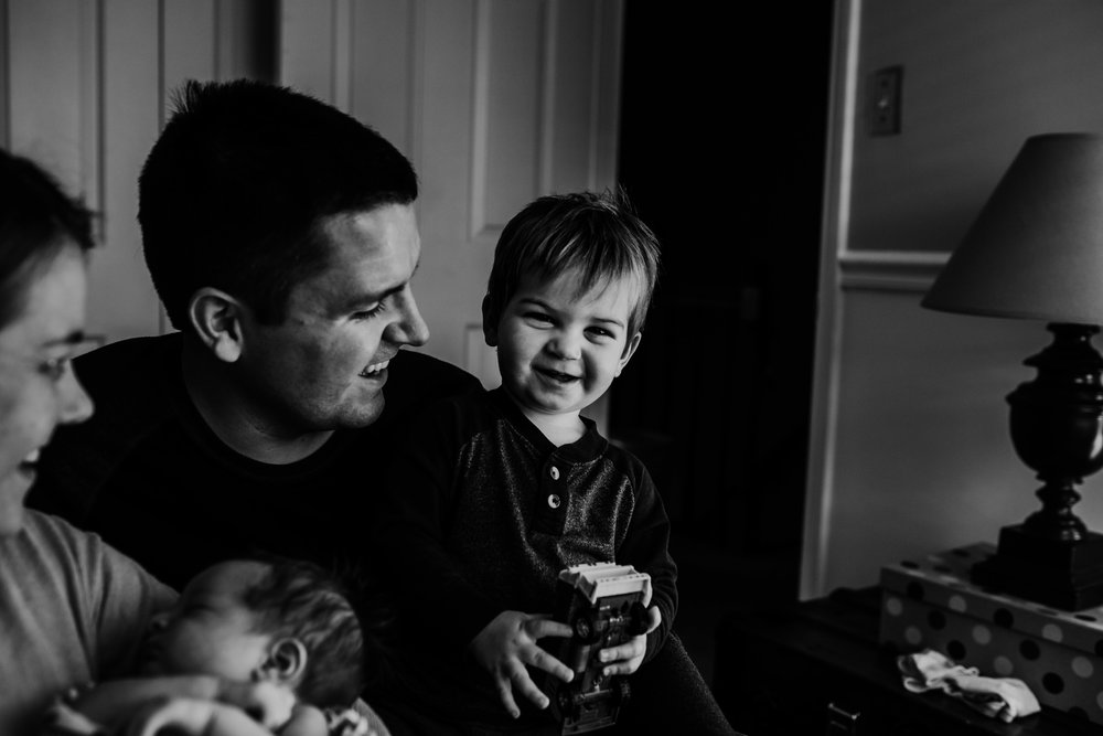 Aidas S Newborn Photography | Hanna Hill Photography | Raleigh birth and family photographer