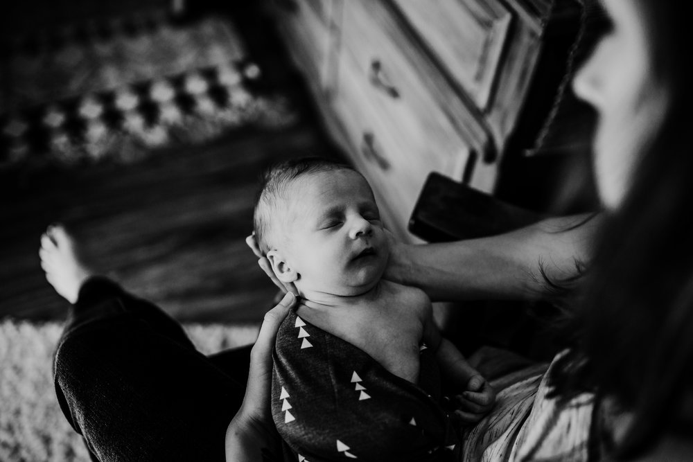 Lewis P. Lifestyle Newborn Photography | Hanna Hill Photography | Raleigh Birth and Family Photography