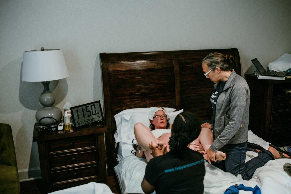 James M Birth Story | Hanna Hill Photography | Raleigh Durham Birth Photographer and Videographer | Baby co. birth center birth