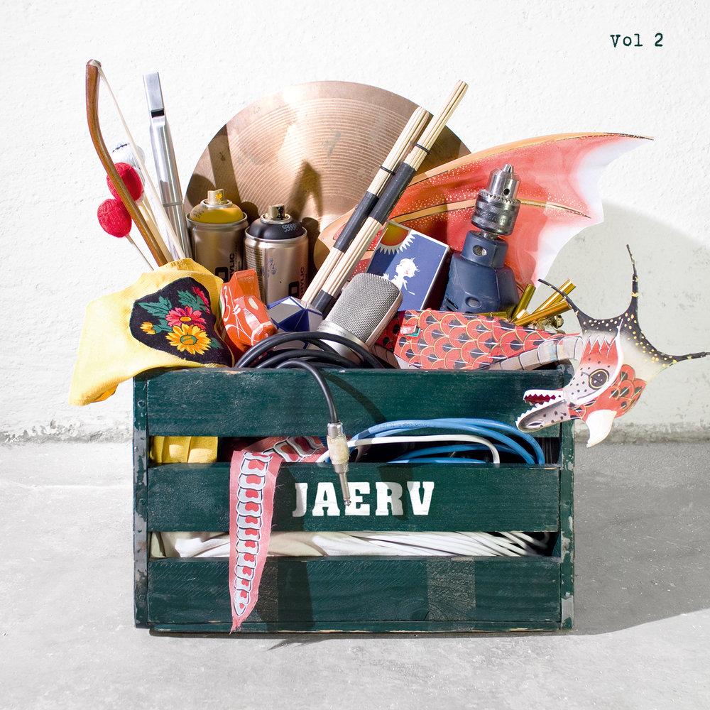 Jaerv Vol 2 FRONT (kvadratisk med vol 2 titel).jpg