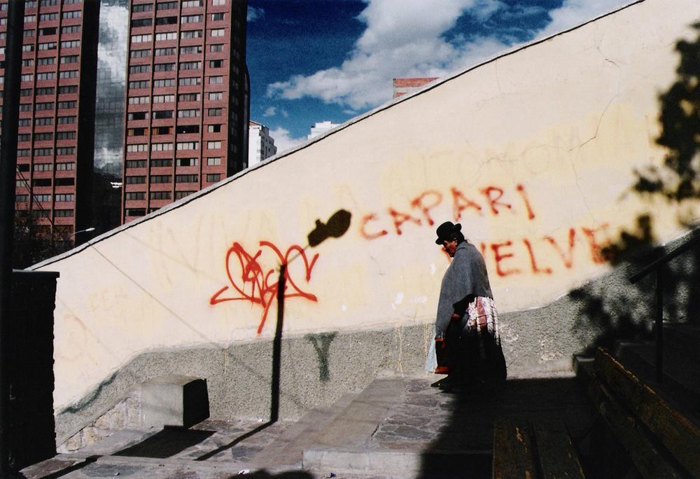 Aymara woman, La Paz 2004