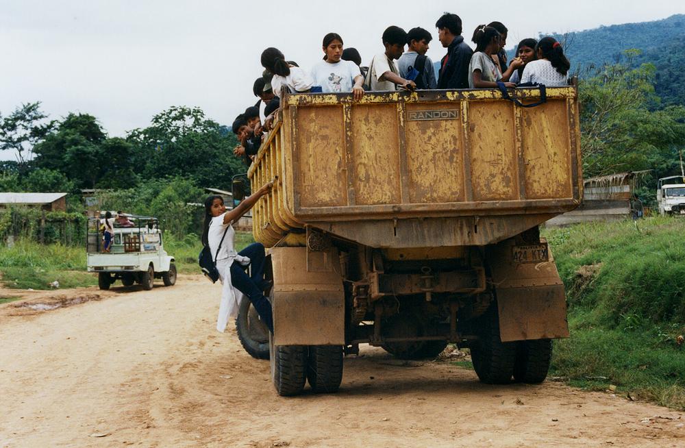 Autobús Escolar, Amazonia 2004