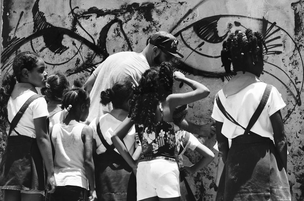 Abstrk & Students, Havana 2015